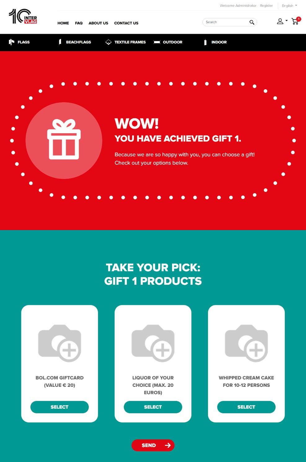 Customer Gift Meter 1
