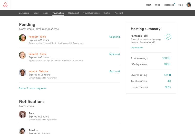 Hosts App