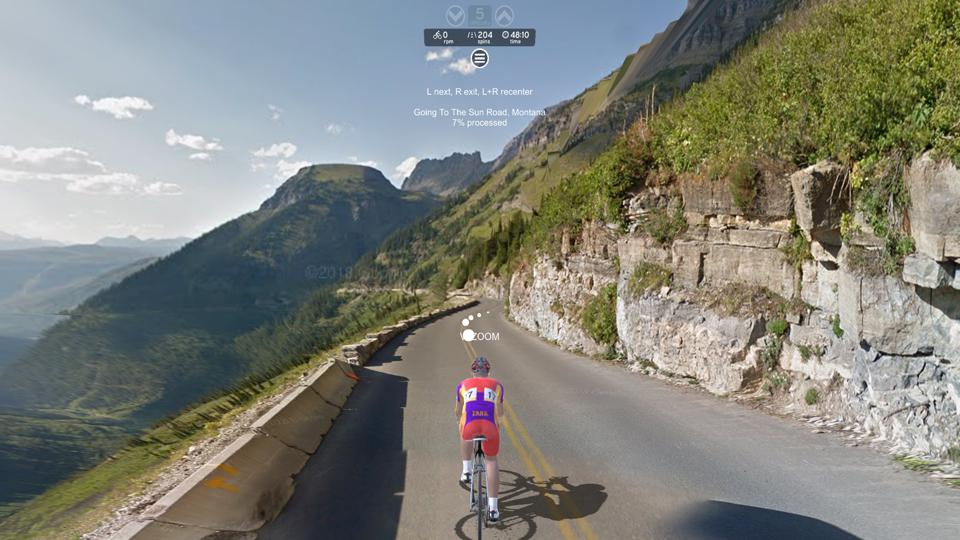 Cycling the World In VR