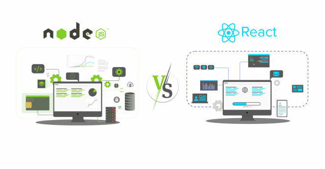 NodeJS Vs. ReactJS – A Complete Guide