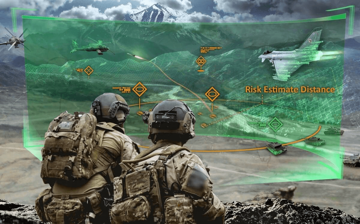 virtual training to US army soldiers