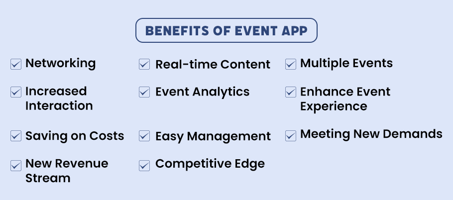 Additional Advantages to Build Event Planning Application