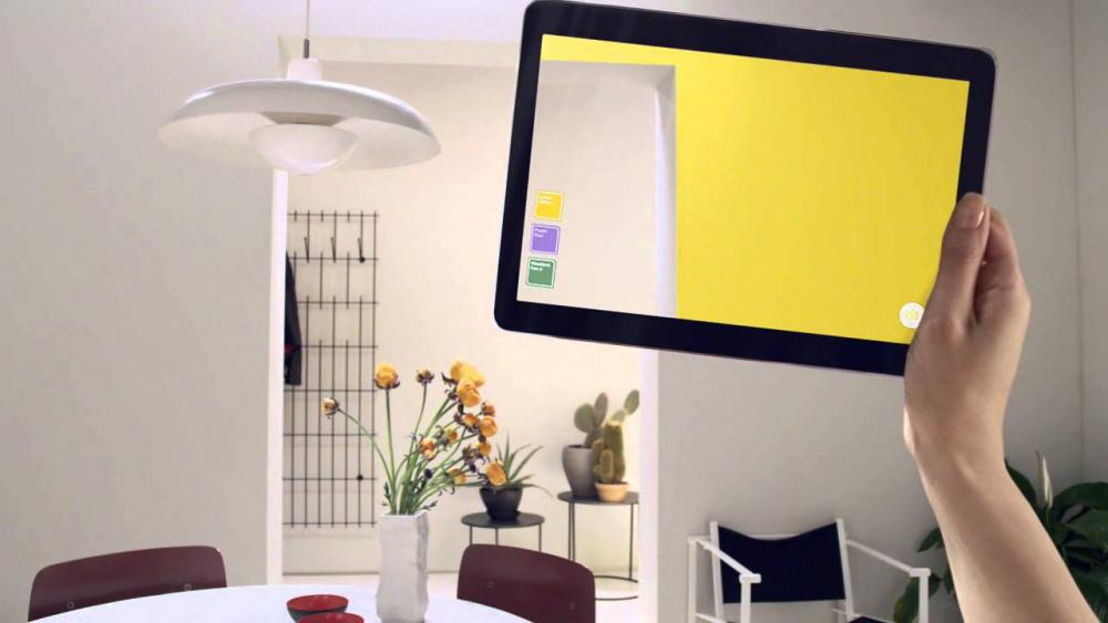 Augmented Reality in Interior Designing