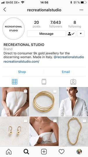 Jewelry Business on Instagram