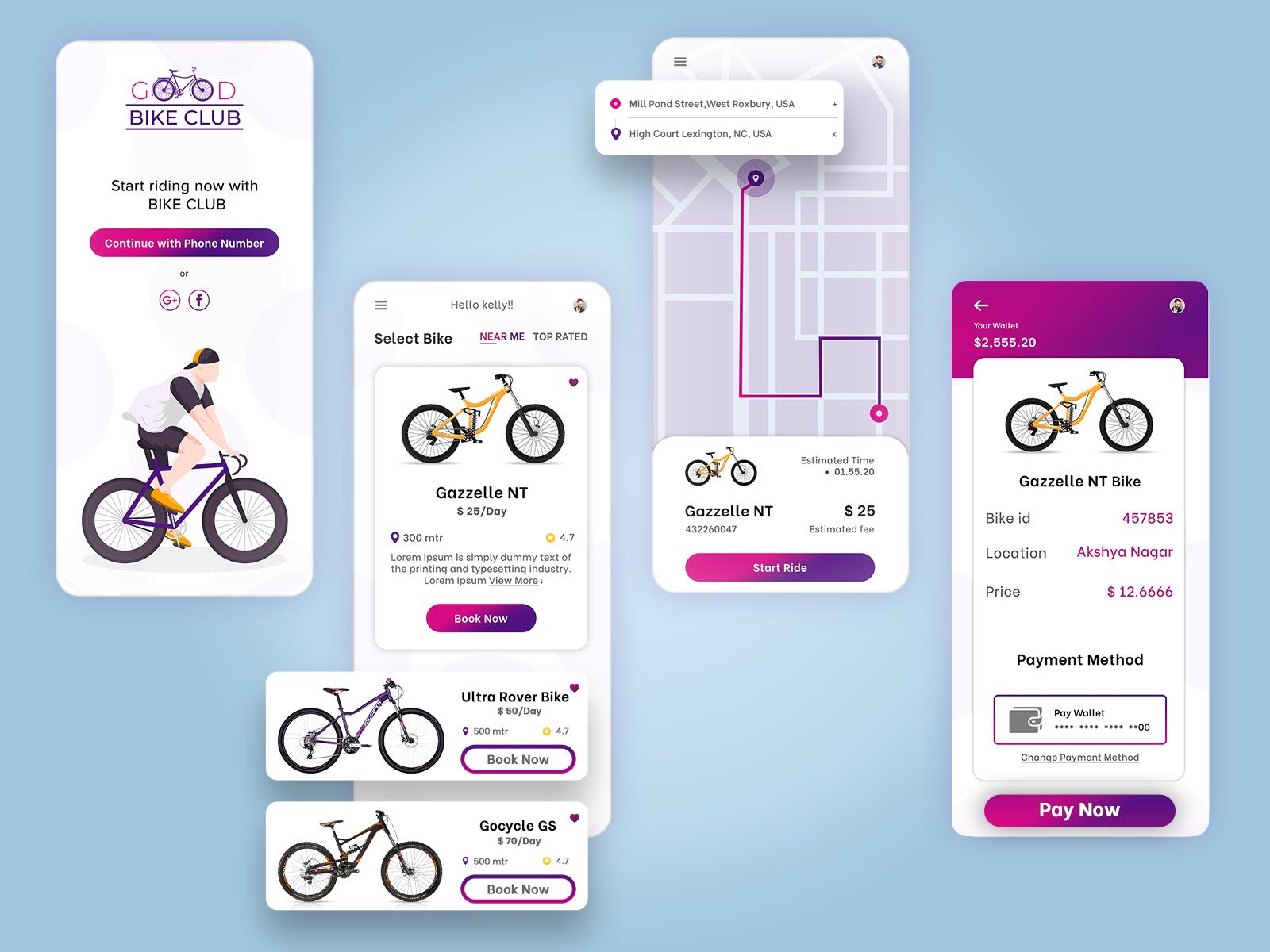 Bike Sharing Mobile