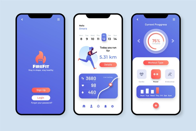 Fitness Tracking Applications