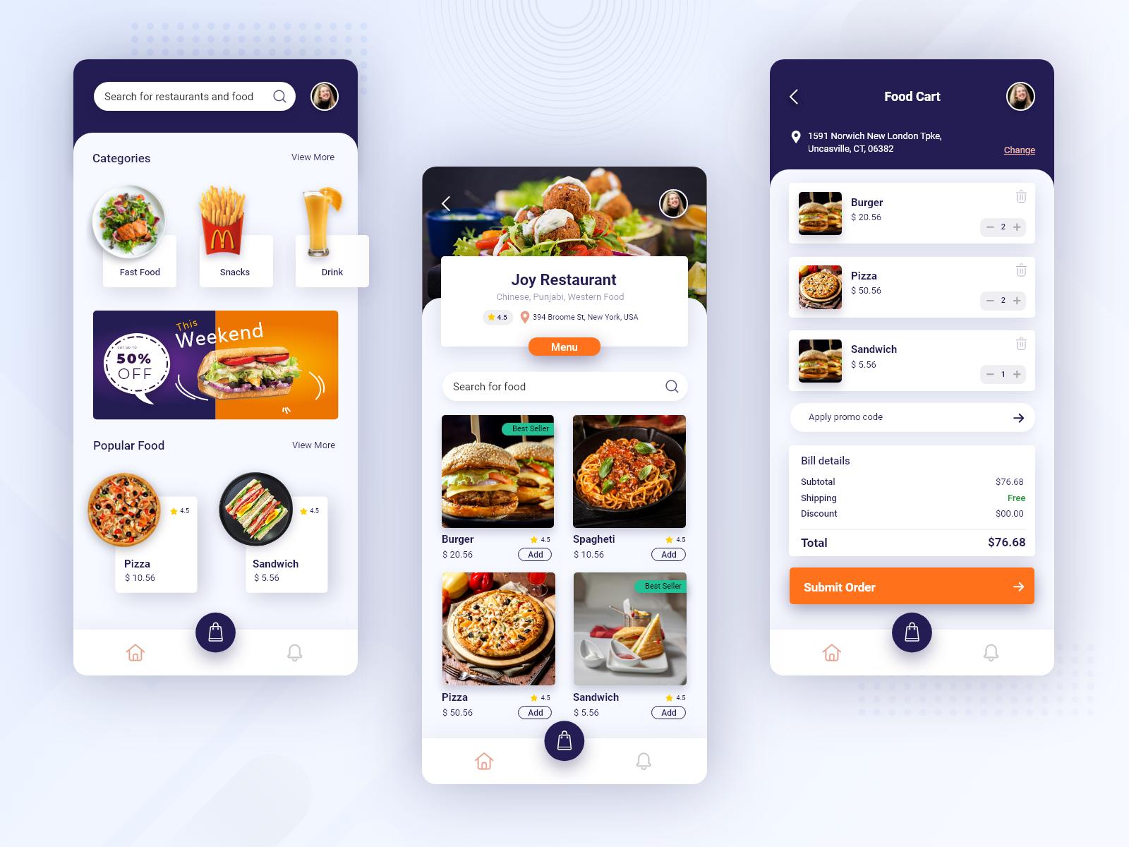 Food Order Mobile