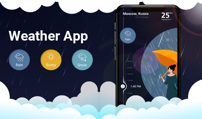 Designing a Fully-functional Weather Mobile App1