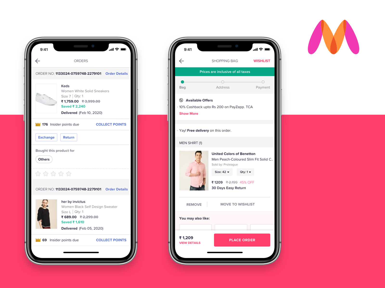 Myntra largest clothing brands